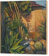 Jardin De Cactus Wood Print