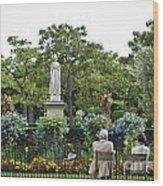 Jardin Du Luxembourg Wood Print