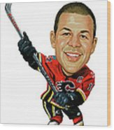 Jarome Iginla Wood Print