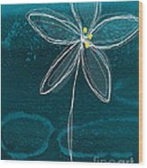 Jasmine Flower Wood Print by Linda Woods