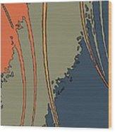 Java-i Wood Print by Charles Rayburn