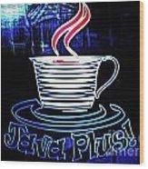 Java Plus Wood Print