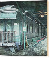 Jay Gould Private Railroad Car Wood Print