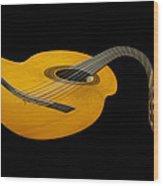 Jazz Guitar 2 Wood Print