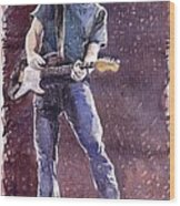 Jazz Rock John Mayer 01 Wood Print