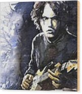 Jazz Rock John Mayer 03  Wood Print