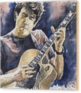 Jazz Rock John Mayer 06 Wood Print