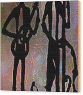 Jazz Trio 2 Wood Print