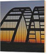Jb Bridge Wood Print