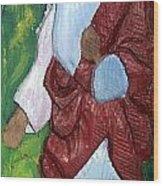 J.b.j. The Christ Like Me Wood Print