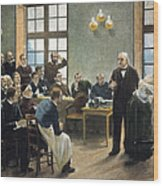Jean Charcots Clinic Wood Print