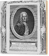 Jean Louis Petit (1674-1750) Wood Print