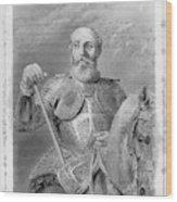 Jean Parisot De La Valette (1494-1568) Wood Print
