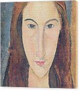 Jeanne Hebuterne Wood Print