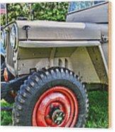Jeep Willys Ww2 Wood Print
