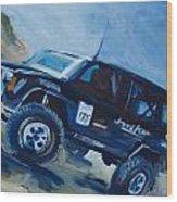 Jeepspeed Wood Print