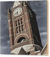 Jefferson County Courthouse Clock Tower Wood Print