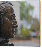 Jefferson In Bronze Wood Print