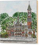 Jefferson Market Library Wood Print