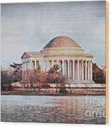 Jefferson Memorial In Dc Wood Print