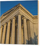 Jefferson Memorial Oblique Wood Print