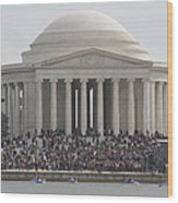 Jefferson Memorial - Washington Dc - 01134 Wood Print