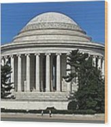 Jefferson Memorial Washington Wood Print