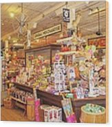Jefferson Texas General Store Wood Print