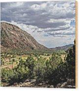 Jemez Mountain Valley Wood Print