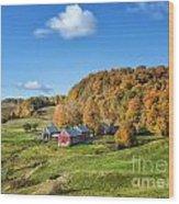Jenne Farm Wood Print