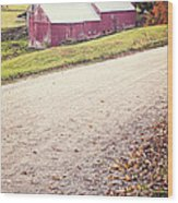 Jenne Farm Vermont Wood Print