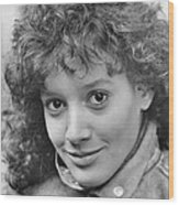 Jennifer Beals In Flashdance  Wood Print by Silver Screen