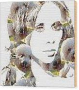 Jennifer Love Hewitt Wood Print