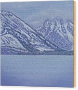 Jenny Lake - Grand Tetons Wood Print