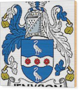 Jenyson Coat Of Arms Irish Wood Print
