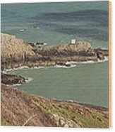 Jerbourg Point On Guernsey - 3 Wood Print
