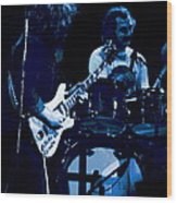 Jerry And Billy At Winterland 2 Wood Print