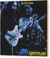 Jerry And Billy At Winterland Wood Print