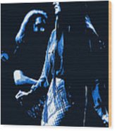 Jerry And Donna Blues 1978 Wood Print