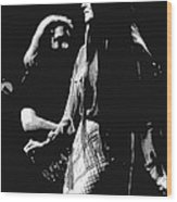 Jerry And Donna Godchaux 1978 A Wood Print