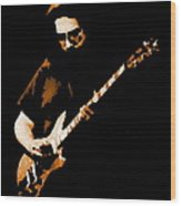 Jerry And His Guitar Wood Print