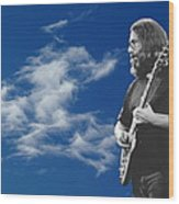 Jerry And The Dancing Cloud Wood Print