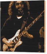 Jerry At Winterland 1977 Wood Print