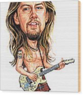 Jerry Cantrell Wood Print by Art