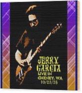 Jerry Cheney 1 Wood Print