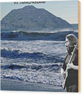Jerry Garcia At Mt Tamalpaisland 2 Wood Print