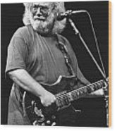 Jerry Garcia Band Wood Print