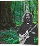 J G In Muir Woods Wood Print