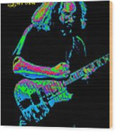 Jerry In Cheney On A Cosmic Day In 1978 Wood Print