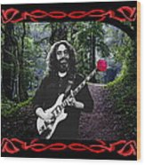 Jerry Road Rose 2 Wood Print